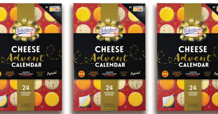 This cheese Advent calendar lets you count down to Christmas one cheese snack at a time 16