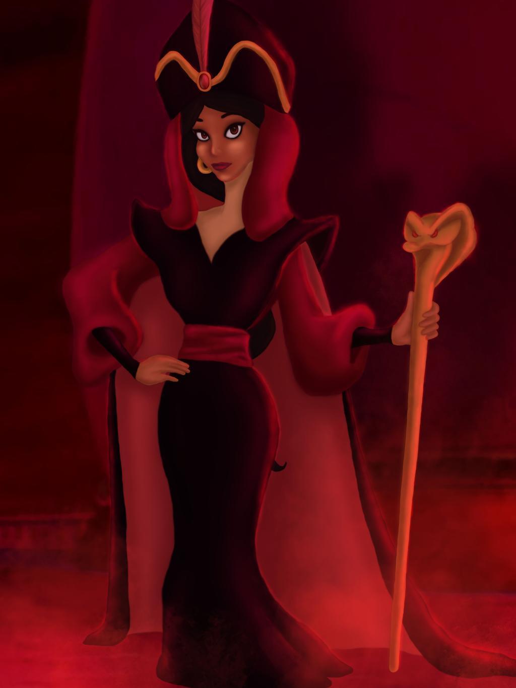Disney villains reimagined as princesses 13