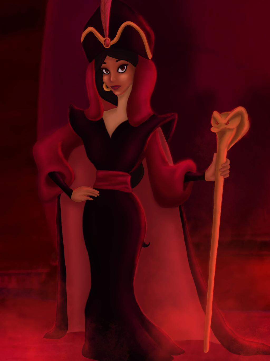 Disney princesses reimagined as villains 12
