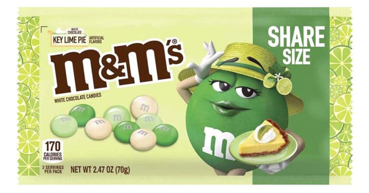 M&M's is releasing a key lime pie flavor in 2021 14