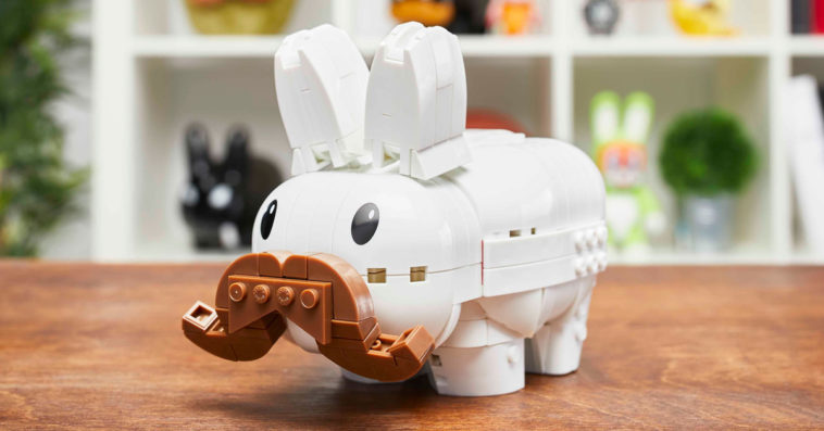 MEGA collabs with Frank Kozik for a build-your-own Labbit 13
