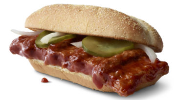 McDonald's McRib is coming back, and this time it'll be available nationwide 17
