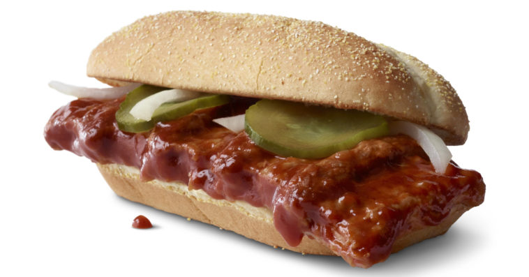 McDonald's McRib is coming back, and this time it'll be available nationwide 12