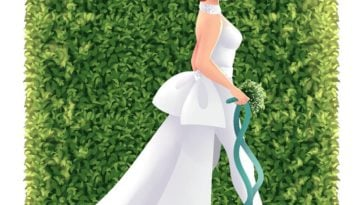 What Disney princesses would look like on their wedding days 7
