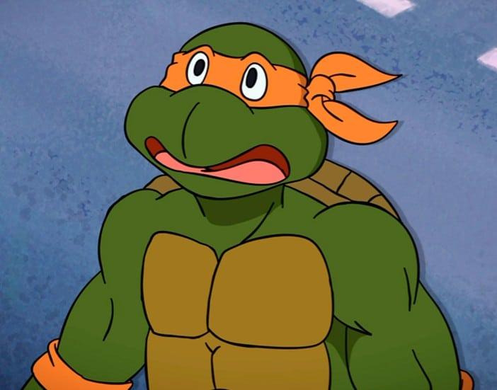 Michelangelo of Teenage Mutant Ninja Turtles 22