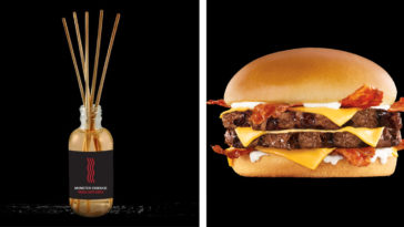 Carl's Jr. and Hardee's are gifting fans with bacon and beef scented diffusers 17