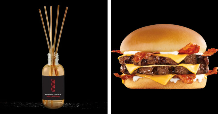 Carl's Jr. and Hardee's are gifting fans with bacon and beef scented diffusers 15