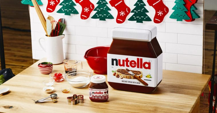 Nutella's DIY Holiday Breakfast Kit includes everything you need to make gingerbread pancakes 11