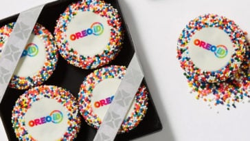 You can now design your own Oreo cookies with OREOiD 13