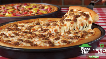 Pizza Hut now offers plant-based Beyond Meat sausage pizzas nationwide 12