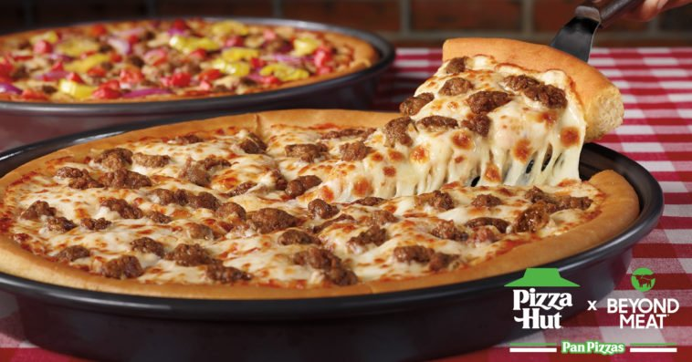 Pizza Hut now offers plant-based Beyond Meat sausage pizzas nationwide 13