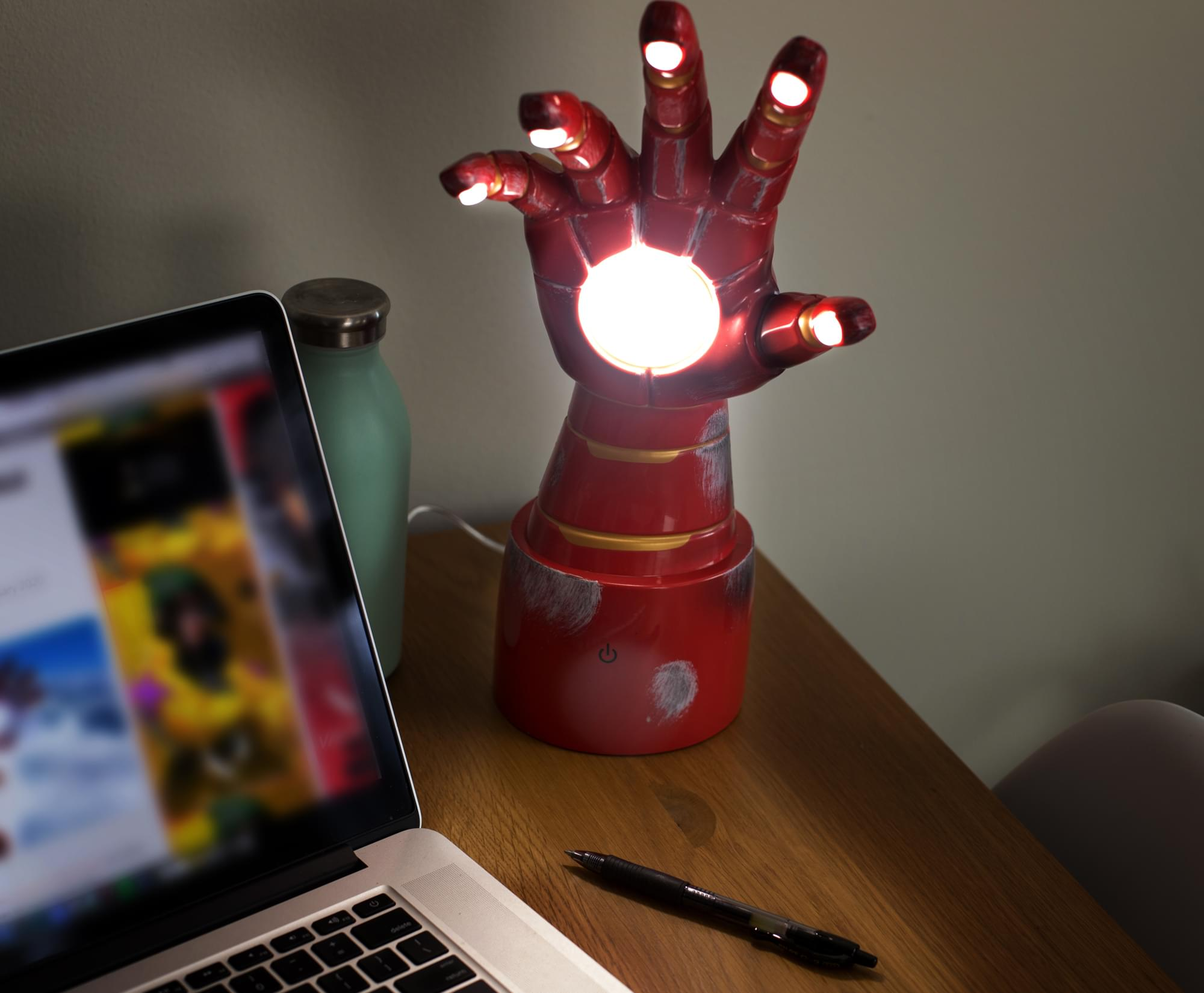 Iron Man's Gauntlet is now an awesome desk lamp that is perfect for WFH 16