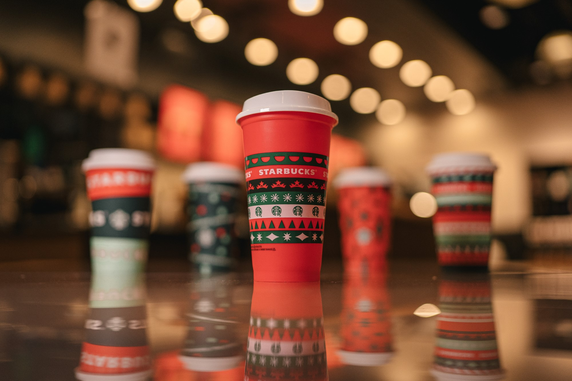 Starbucks unveils new holiday cups, reveals returning festive drinks and food items 15