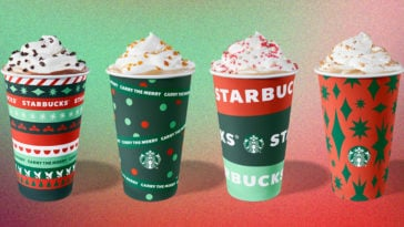 Starbucks unveils new holiday cups, reveals returning festive drinks and food items 11