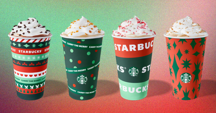 Starbucks unveils new holiday cups, reveals returning festive drinks and food items 13