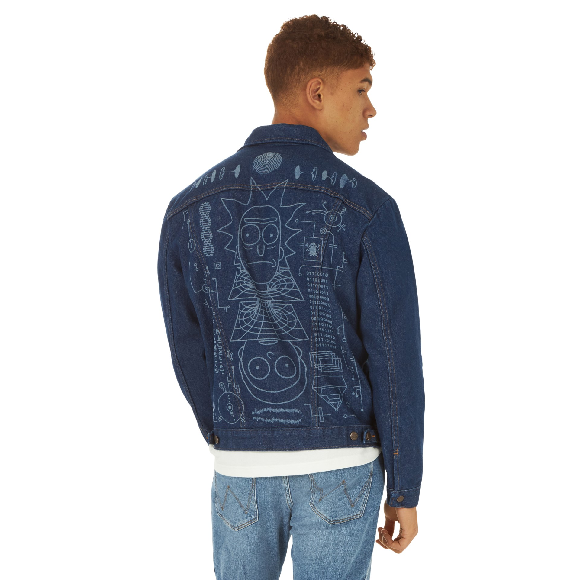 Wrangler drops Rick and Morty jacket and t-shirt inspired by the show's season 4 finale 13