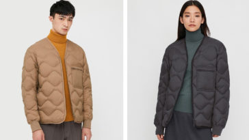 This sustainable Uniqlo jacket is made from old and unwanted clothing 18