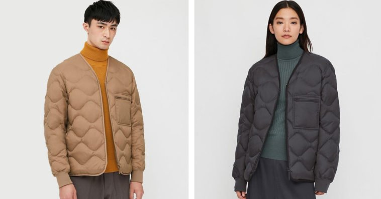 This sustainable Uniqlo jacket is made from old and unwanted clothing 14