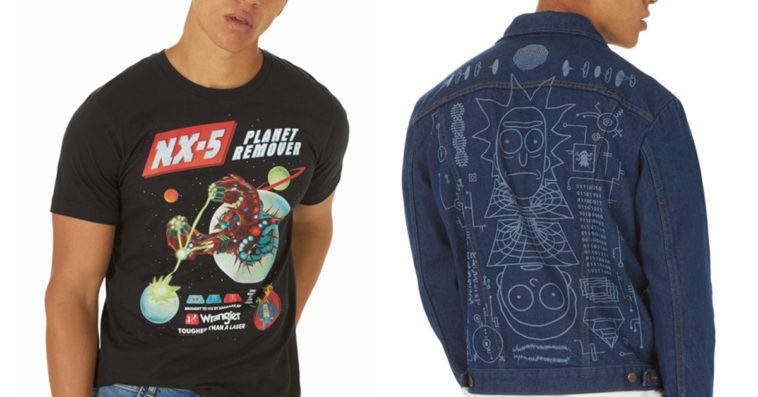 Wrangler drops Rick and Morty jacket and t-shirt inspired by the show's season 4 finale 15