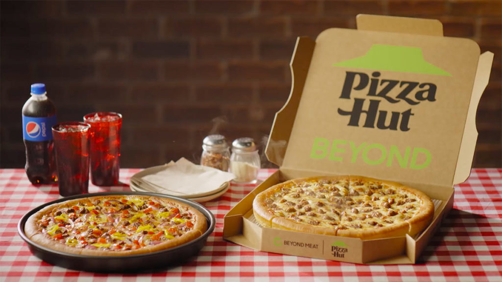 Pizza Hut now offers plant-based Beyond Meat sausage pizzas nationwide 16