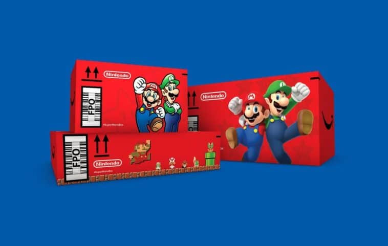 Amazon is shipping items in Super Mario boxes 15