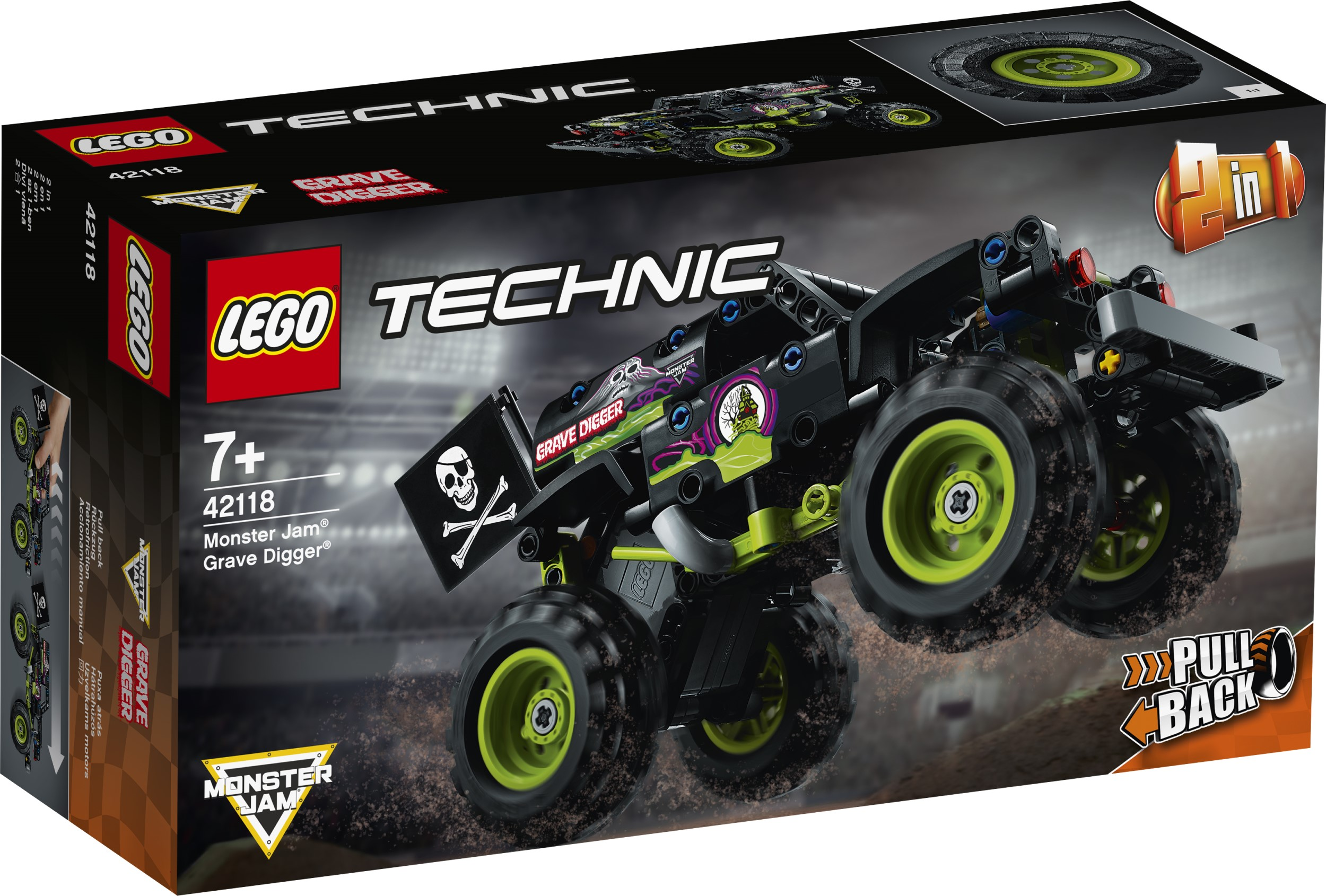 LEGO Technic Monster Jam series gets two new monster truck replicas 17