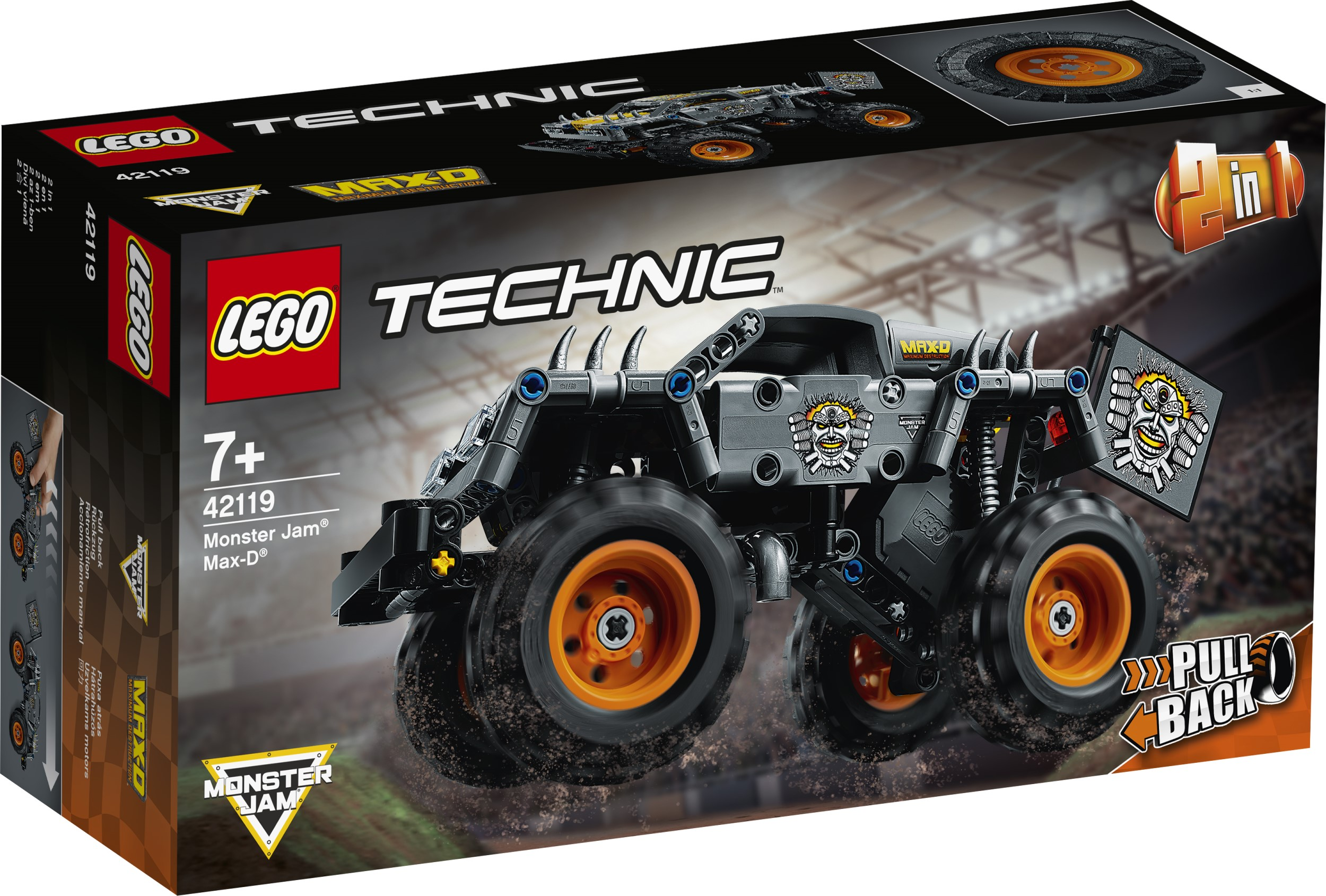 LEGO Technic Monster Jam series gets two new monster truck replicas 16