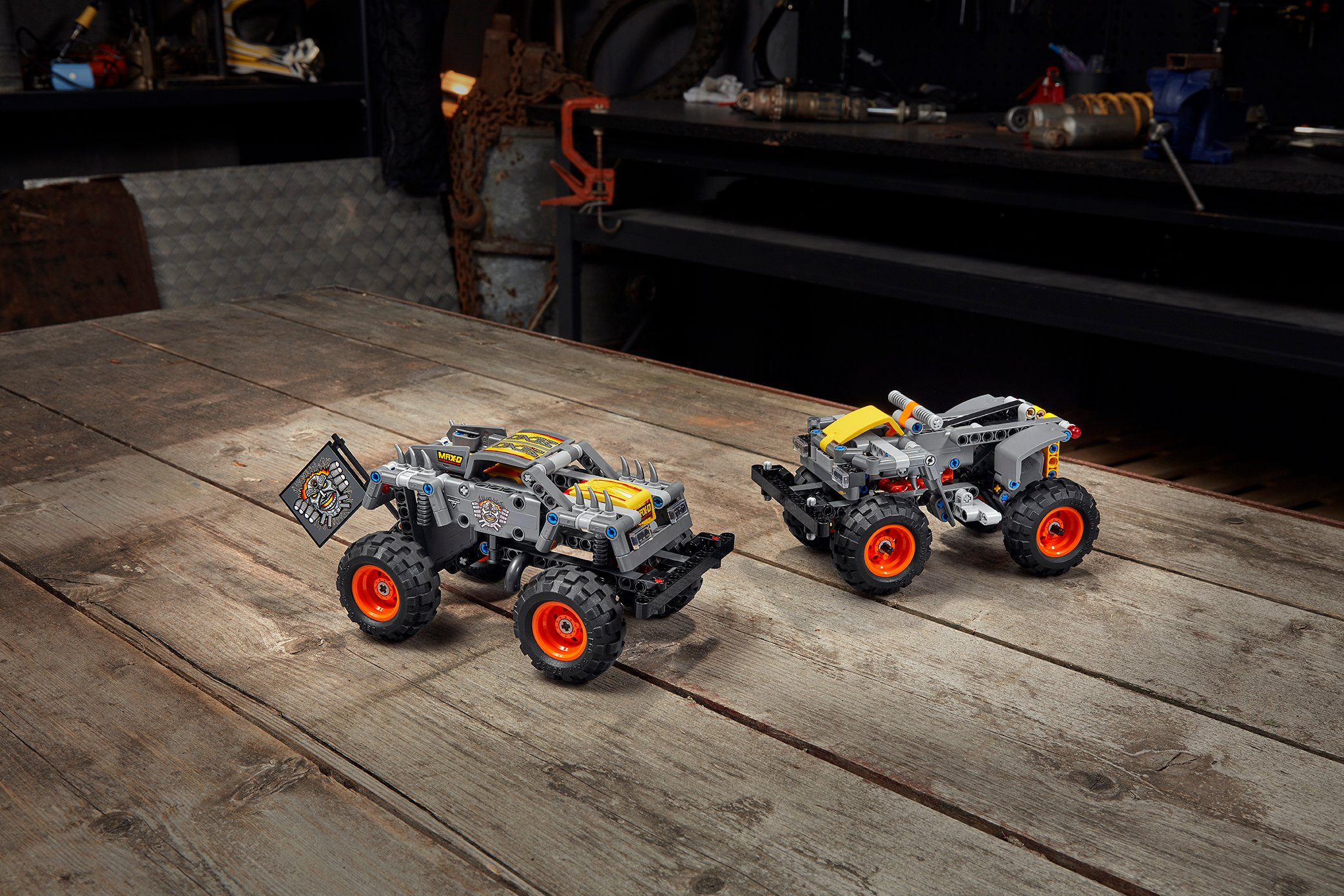 LEGO Technic Monster Jam series gets two new monster truck replicas 14