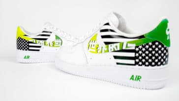 A$AP TyY releases Nike Air Force 1 shoes customized by CroxxHatch 10