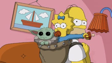 The Mandalorian's Baby Yoda appears in a special The Simpsons short 24