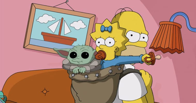 The Mandalorian's Baby Yoda appears in a special The Simpsons short 14