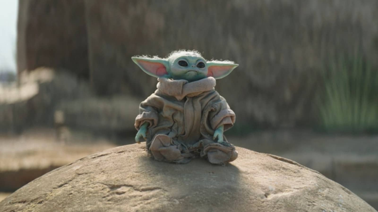 Baby Yoda in The Mandalorian's Chapter 14: The Tragedy