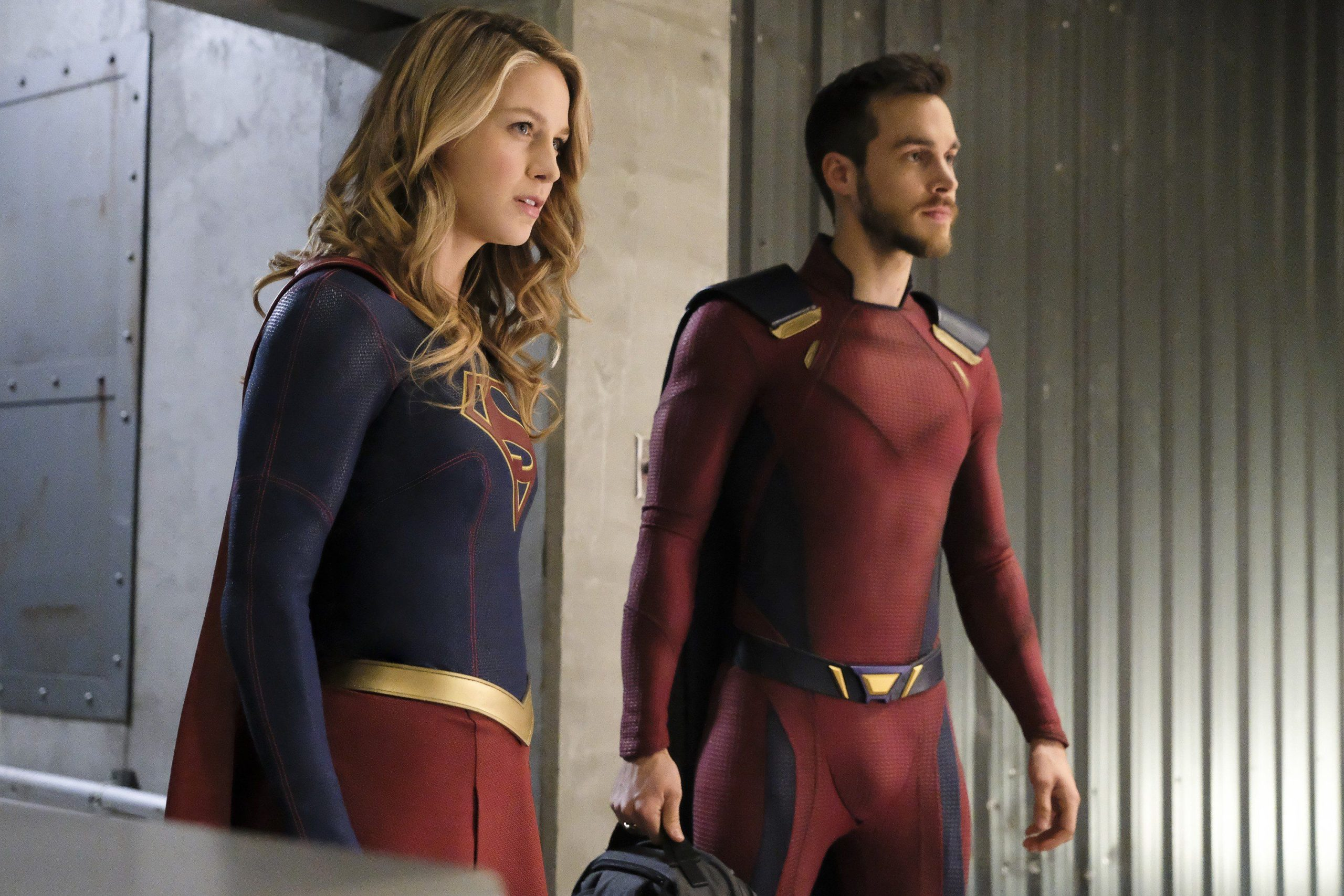 Chris Wood has also appeared in Supergirl as Mon-El