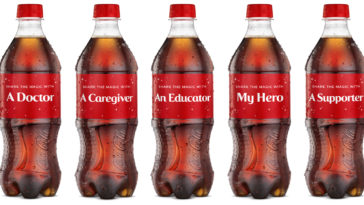 Coca-Cola honors everyday heroes with holiday-themed 'Share A Coke' bottles 12