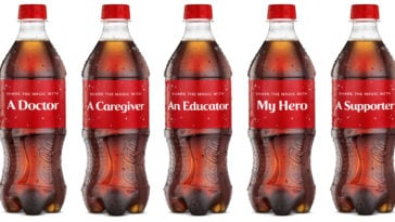 Coca-Cola honors everyday heroes with holiday-themed 'Share A Coke' bottles 17