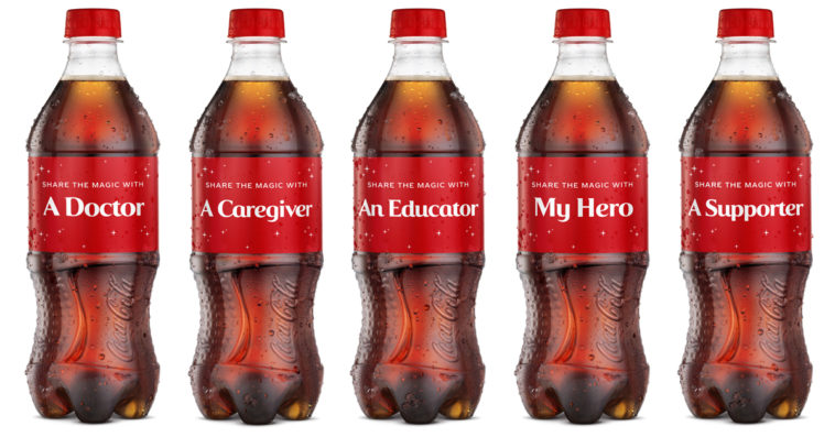Coca-Cola honors everyday heroes with holiday-themed 'Share A Coke' bottles 13