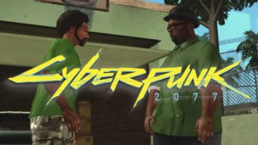 Cyberpunk 2077 has a grim GTA San Andreas easter egg 11