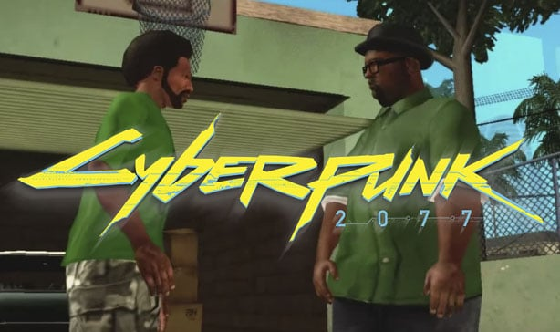 Cyberpunk 2077 has a grim GTA San Andreas easter egg 13