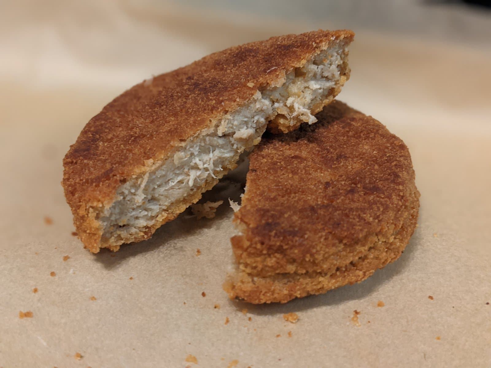 DISCS plant-based chicken patties are damn close to the real thing 9