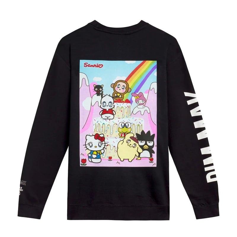 Dim Mak x Sanrio Aoki's Cake Crew Sweatshirt