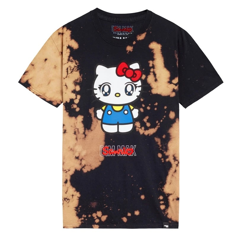 Dim Mak x Sanrio Hello Kitty Tee - Rust Bleach