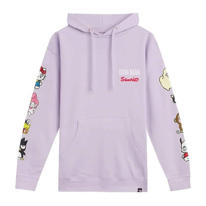 Dim Mak x Sanrio Rainbow Hoodie