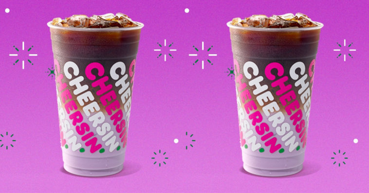 The Sugarplum Macchiato is Dunkin's most whimsical holiday coffee drink 11