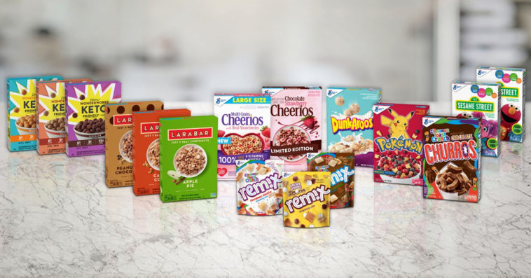 General Mills is releasing 16 new cereals including Pokémon and Sesame Street 11