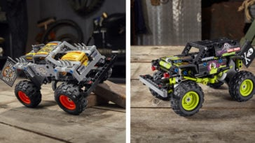 LEGO Technic Monster Jam series gets two new monster truck replicas 12