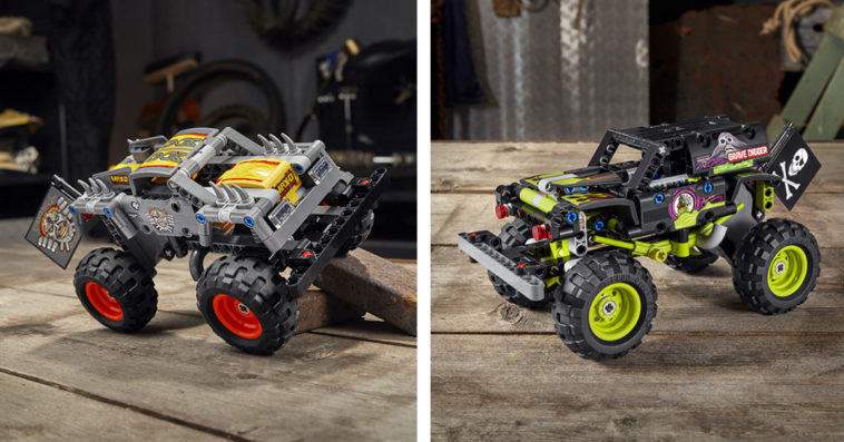 LEGO Technic Monster Jam series gets two new monster truck replicas 11