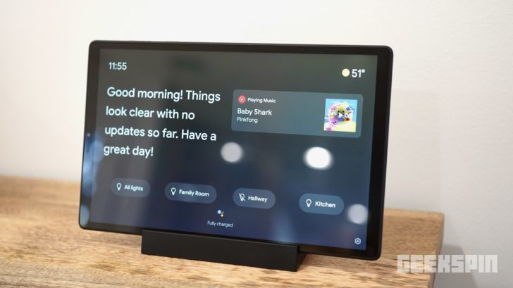Lenovo Smart Tab M10 HD (2nd Gen) with Google Assistant review 13
