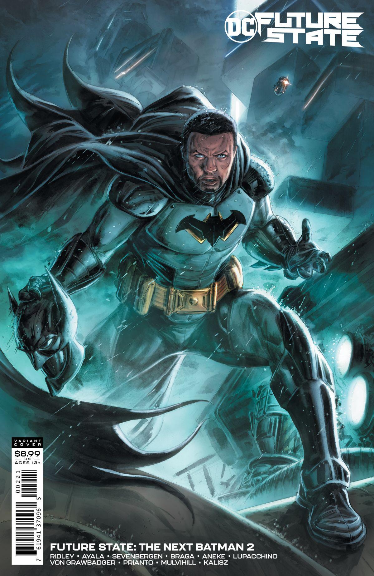 DC Comics announces Tim Fox as the next Batman 14