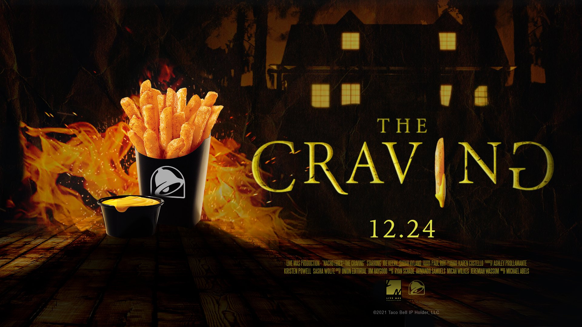 Nacho Fries: The Craving official poster