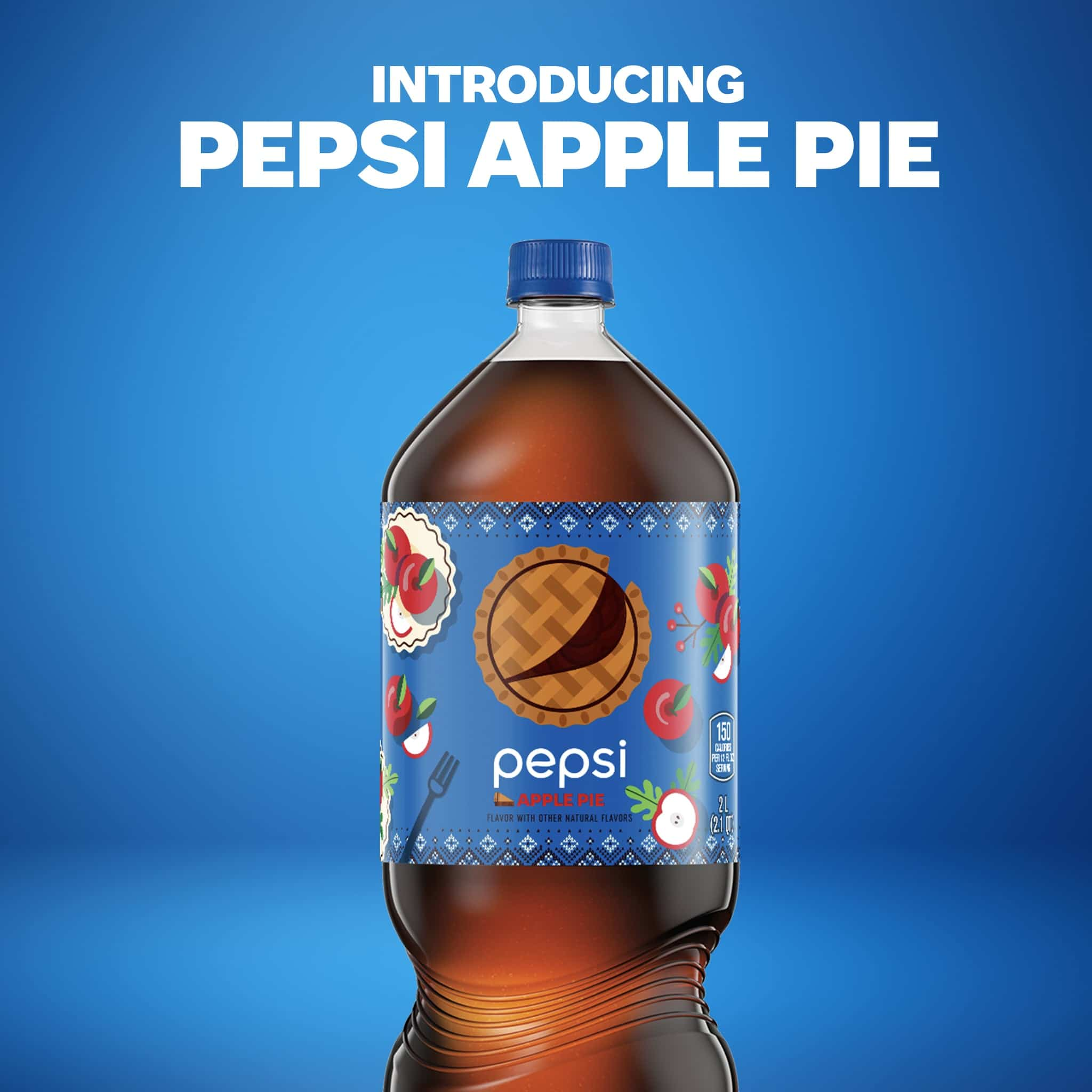 Pepsi 'Cocoa' Cola was launched a month after the introduction of Pepsi Apple Pie